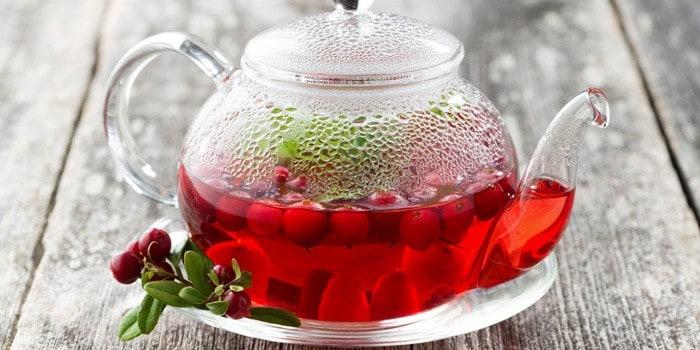 Бруснично-ромашковый чай «Вкус лета»